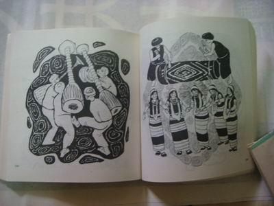 云南风情黑白装饰画