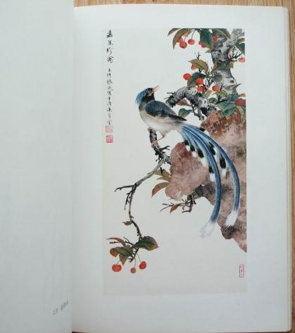 上海画院中国画专集,国画画册,集体国画画册,七十年代 ,综