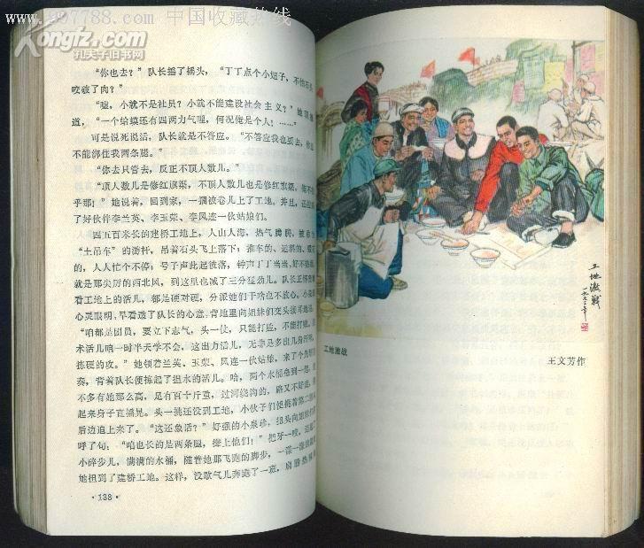 插图本:红旗渠颂——林县红旗渠报告文学集