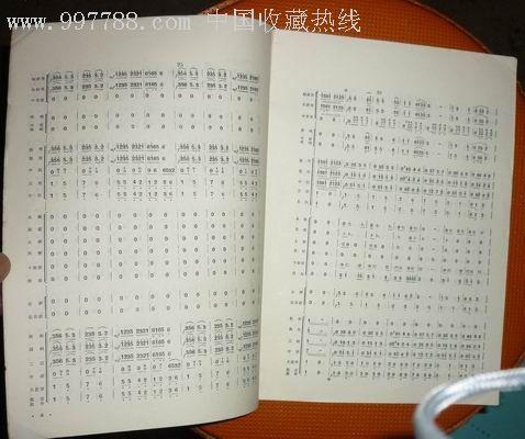丰收锣鼓》,歌曲/歌谱,乐器/音乐谱,文革期间(1967年-1976年),16开,30