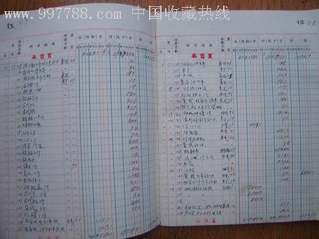 文革现金日记账_价格元【笨鸟斋】