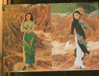 越南模特明信片
