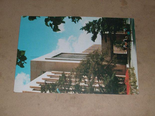 明信片---吉林大学图书馆