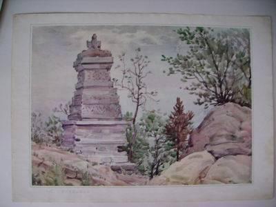 苏州灵岩山梳妆台(14)