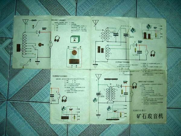 收音机挂图之(1):矿石收音机