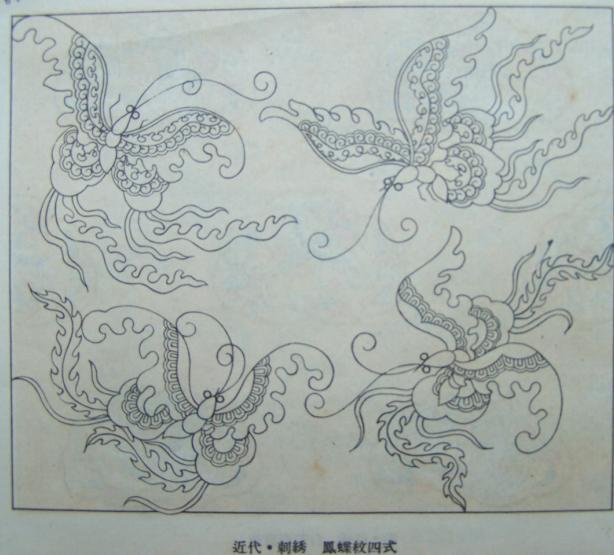 白鹤彩鸾镜