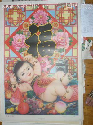 儿童画荷叶仙鹤