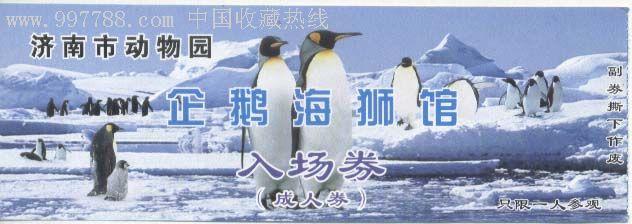 济南市动物园企鹅馆入场券