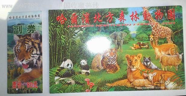 哈尔滨北方森林动物园,旅游景点门票,园林/公园-->公园,动物园,入口票