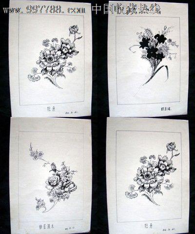 圆珠笔绘画原稿(23张)大概20开-au4405632-素描/速写
