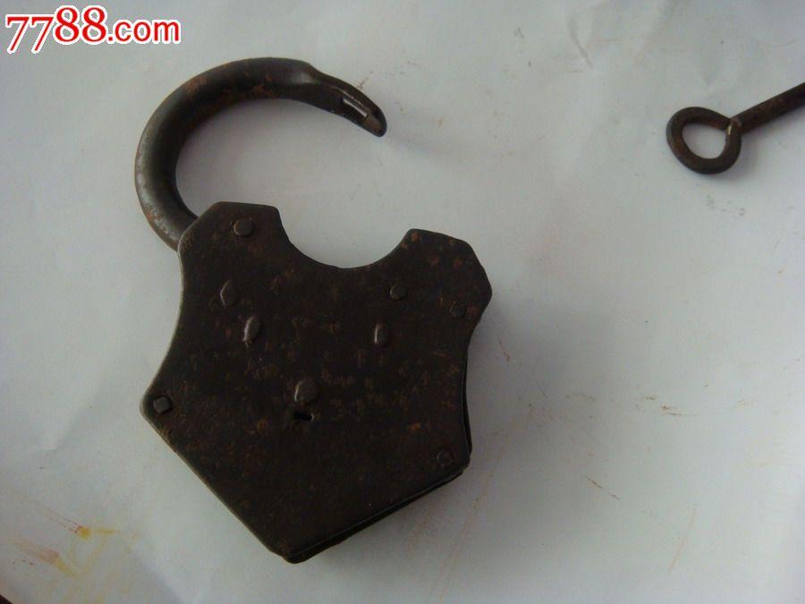 清代大保价铁锁按摩器图片