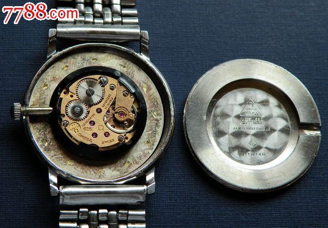 【纯正原装】【欧米茄手卷625机芯男装表】【两针少见图片