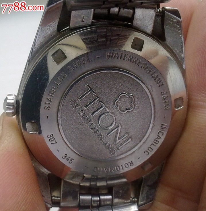 瑞士梅花手表一只图片