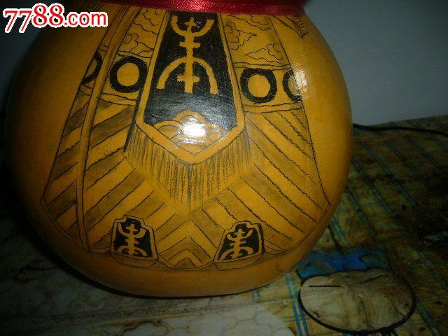 手绘【葫芦】老寿星画