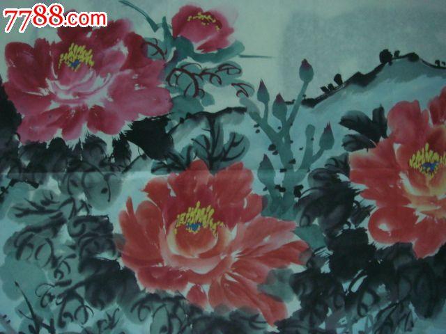 黄雨田_国画--牡丹(作者:黄雨田)