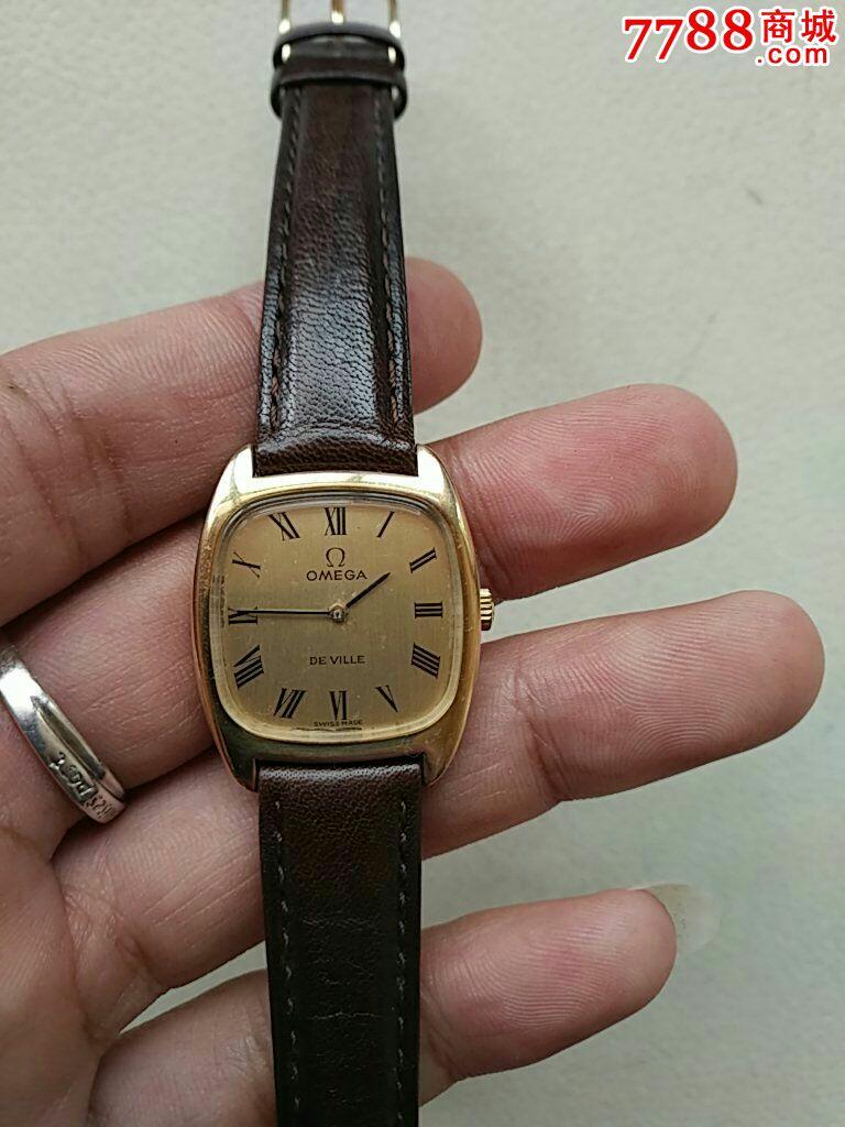 好品欧米茄包金625手卷机芯女表_手表/腕表_精品中古_图片