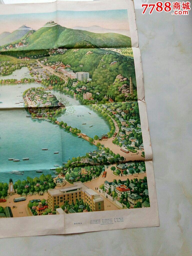 西湖平面图高清版