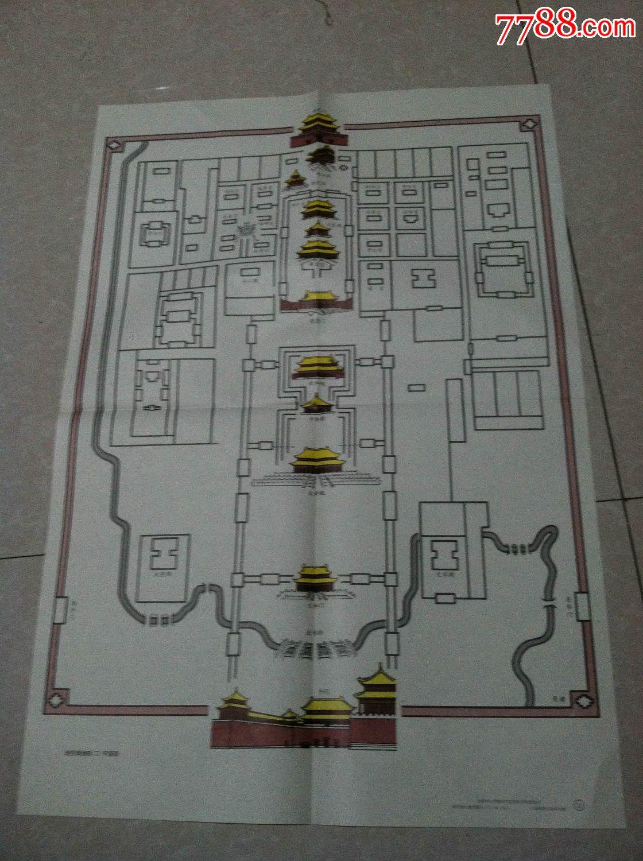 教学挂图--故宫博物院平面图