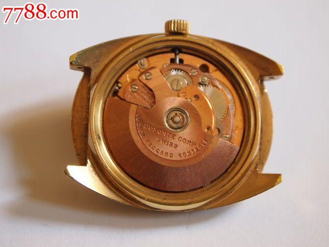 50年代瑞士卢森皮卡德(luciepiccard)自动腕表图片