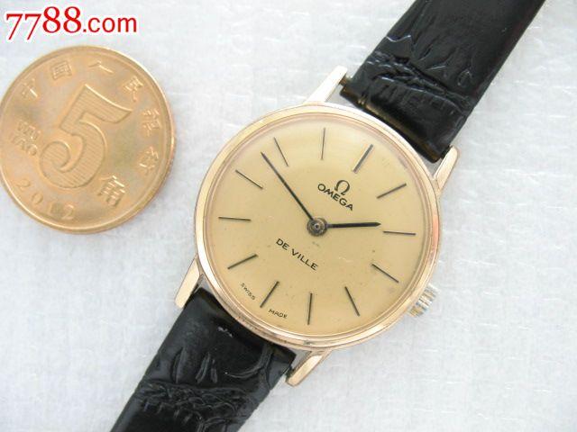 瑞士古董手表包金欧米茄蝶飞女表图片