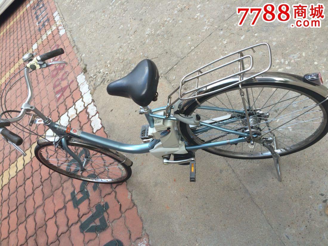 日本原装进口二手雅马哈电动助力内三速自行车